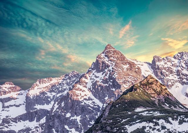 Snow, Mountain, Nature, Panoramic, Landscape, Winter