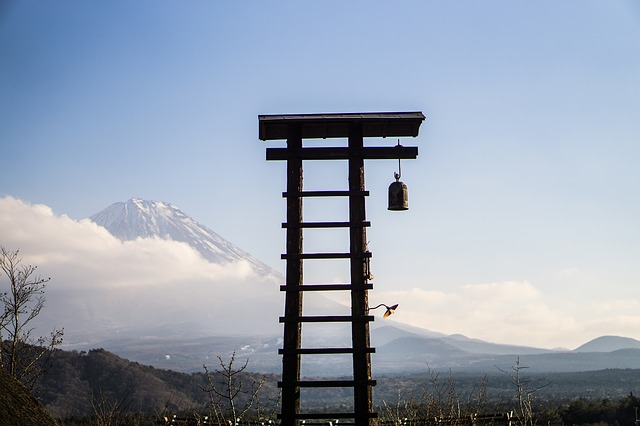 Japan, Mt Fuji, Landscape, K, Winter, Fuji, Sky