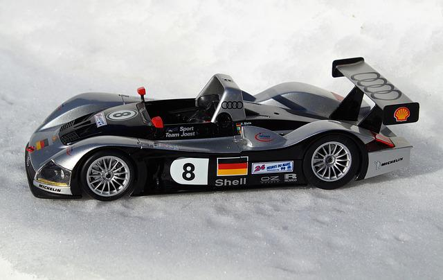 Model Car, Audi, R8r, Sports Car, Winter, Auto