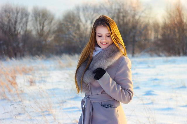 Winter, Coldly, Snow, Nature, Outdoors, Girl, Portrait