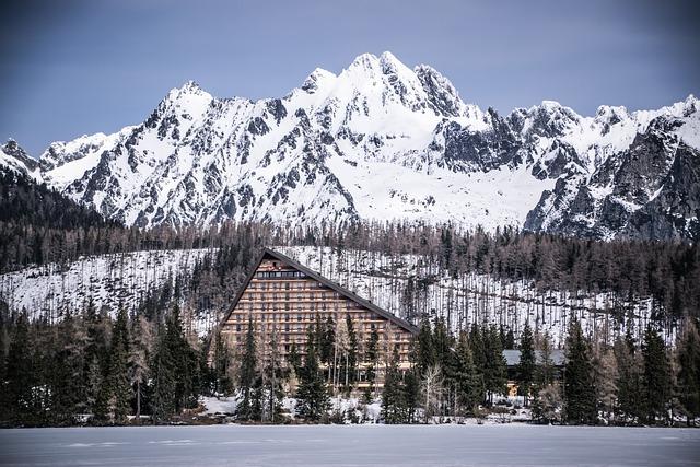 Mountains, Winter, Landscape, Snow, Nature