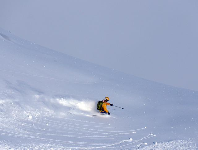 Extreme, Skier, Winter, Sport, Lifestyle, Guy, Outdoor