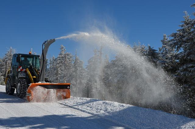 Snow Plough, Snow, Winter Service, Winter Room Service