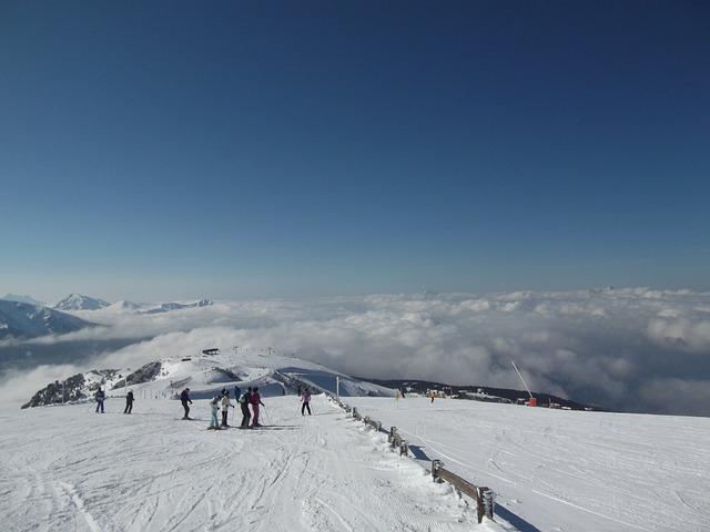 Ski Run, Ski Area, Ski Slope, Ski, Chanrousse, Winter