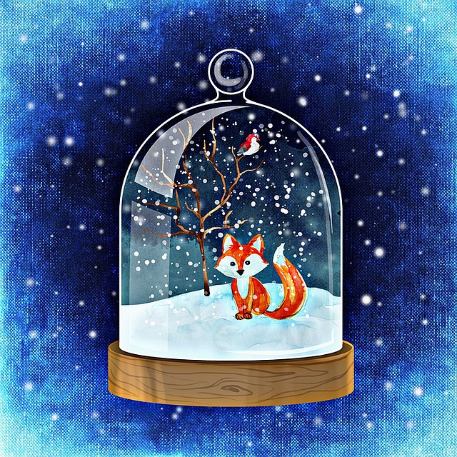 Winter, Snow Ball, Snow, Cold, Fun, Blue, December