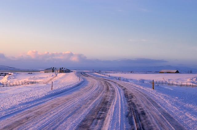 New York, Landscape, Winter, Snow, Ice, Farm, Barn