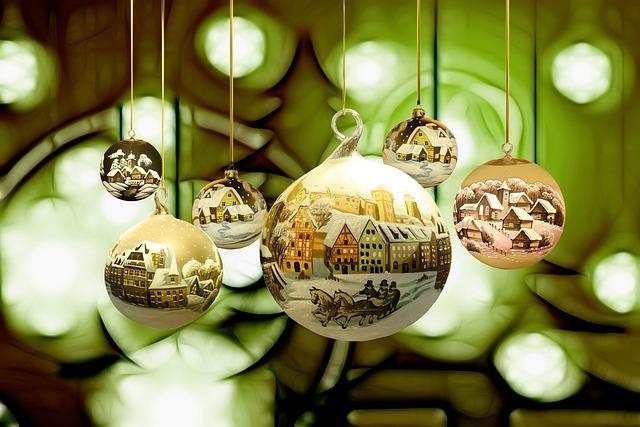 Christmas, Winter, Snow, Village, Landscape