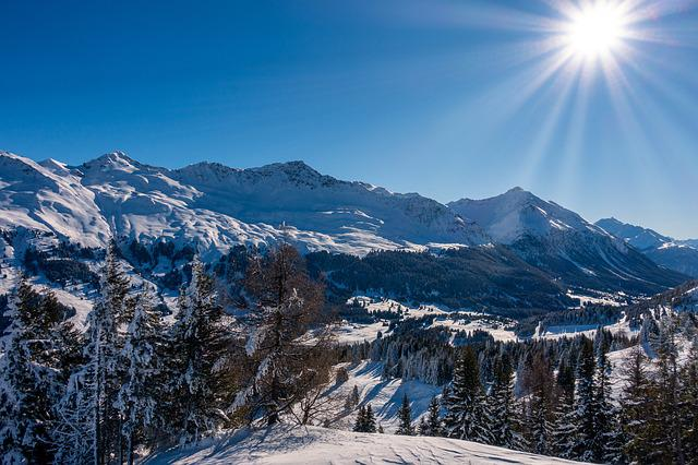 Lenzerheide, Ski Area, Winter Snow, Alpine, Switzerland