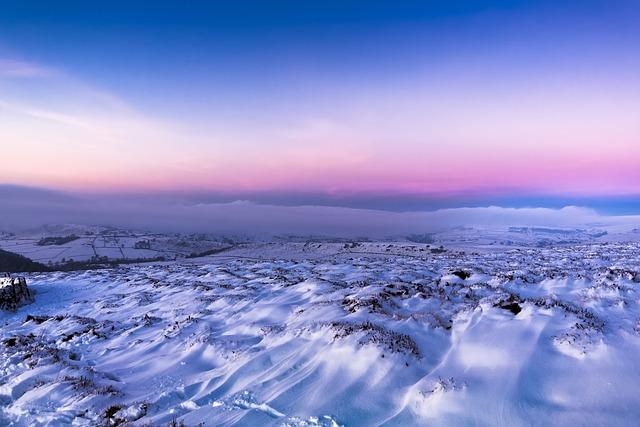 Snow, Winter, Twilight, Christmas, December