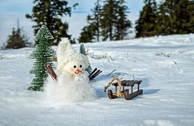 Snowman, Snow, Winter, Cold, Wintry, Figure, Eismann