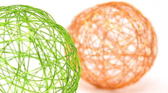 Balls, Colorful, Decoration, Ball, Wire, Metal