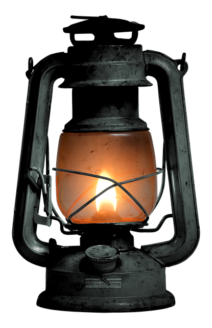 Kerosene Lamp, Lamp, Old, Wire Mesh, Light, Lantern