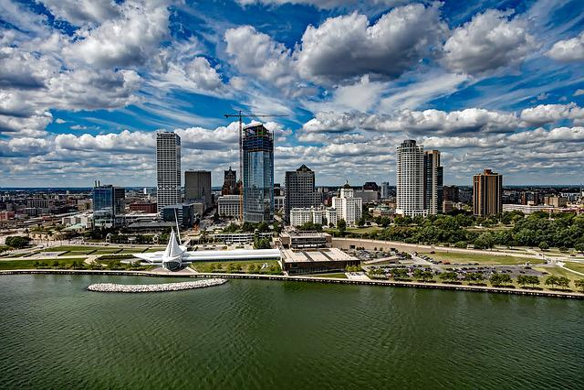 Milwaukee, Wisconsin, City, Urban, Skyline, Cityscape