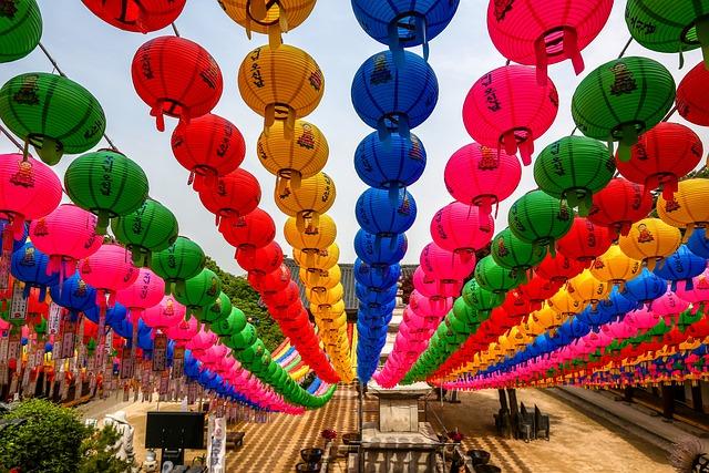 Buddha's Birthday, Wish, Lantern, Republic Of Korea