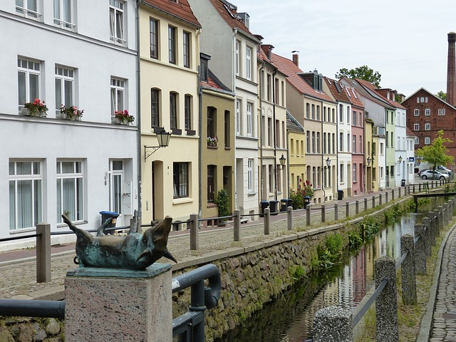Wismar, Mecklenburg, Historically, Old Town, Water