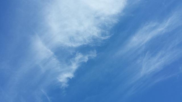 Cirrus Clouds, Blue Sky, Sky, Cirrus, Clouds, Wispy