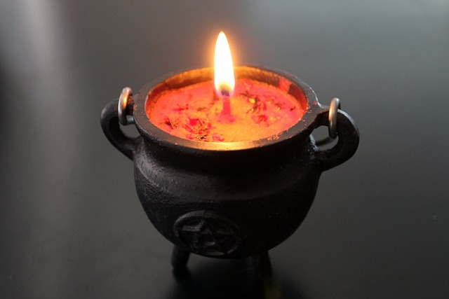 Mystery, Witchcraft, Cauldron, Candle