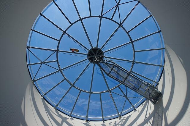 Glass, Modern, Window, Building, Sky, Within