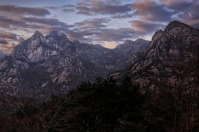 Wolchulsan, Republic Of Korea, Mountain, Cloud, Nature