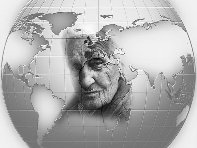 Worldwide, Woman, Grandma, World, Earth, Old, Age