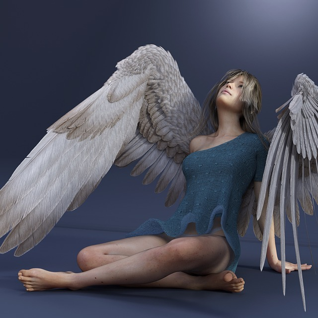 Angel, Wing, Woman, Female, Young Woman, Angel Face