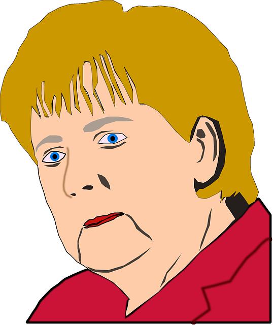 Angela Merkel, Merkel, Politician, Woman, Face, Head