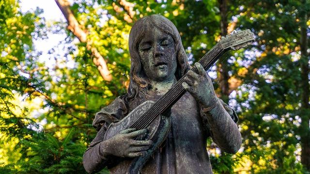 Sculpture, Stature, Girl, Art, Stone, Woman