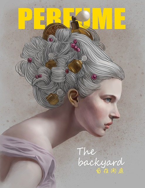 Magazine Cover, Insert, Art, Graphic Design, Woman