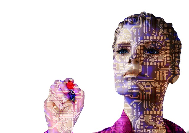 Robot, Artificial Intelligence, Woman, Forward