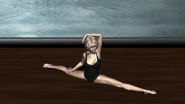 Ballerina, Splits, Ballet, Dance, Dancer, Woman, Art