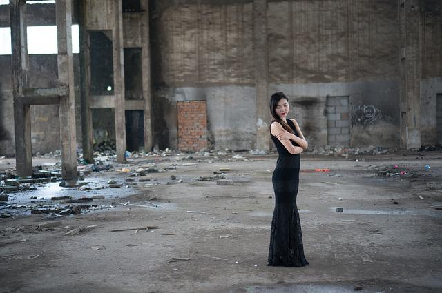 Woman, Model, Portrait, Photography, Black Dress