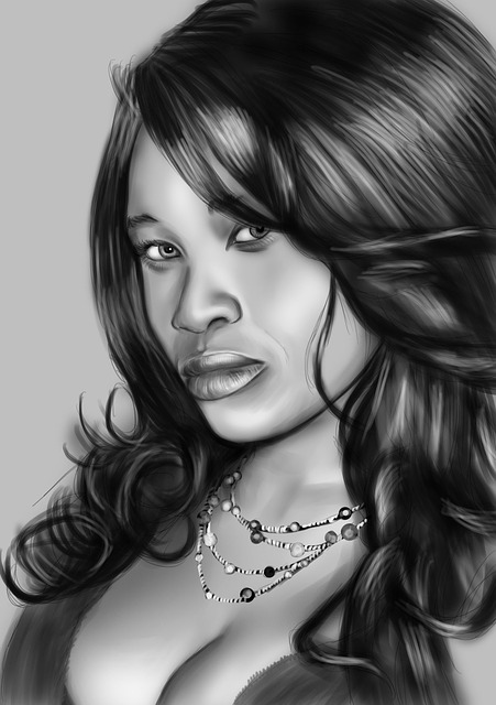 Drawing, Cartoon, Sketch, Woman, Cute, Pencil, Drawn