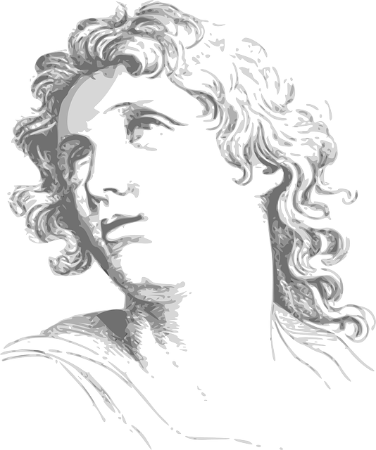 Face, Curls, Woman, Expression, Historic, Female