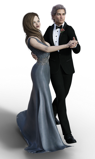 Woman, Man, Pair, Dance, Dancing Couple, Ball, Suit
