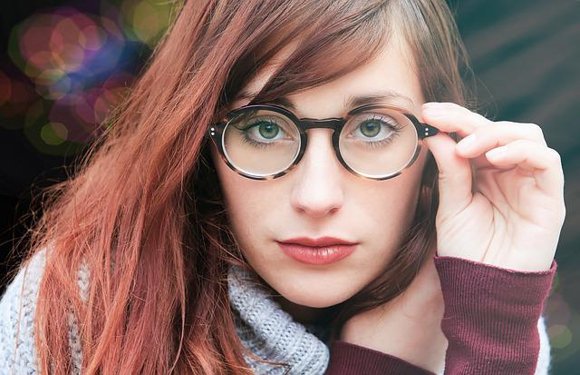 Woman, Glasses, Girl, Beauty, Elegant, Face, Bella