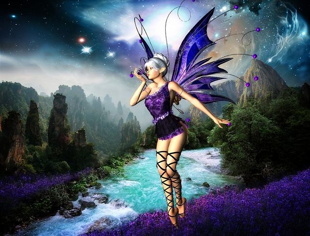 Woman, Fairy, Female, Fantasy, Magic, Art, Magical
