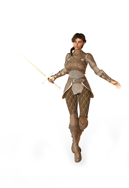 Woman, Sword, Amazone, Warrior, Heroine, Fantasy, Pride