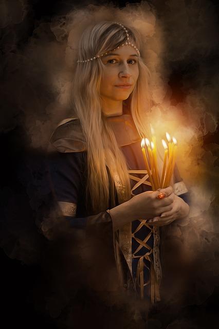Woman, Female, Beauty, Fantasy, Portrait, Medieval