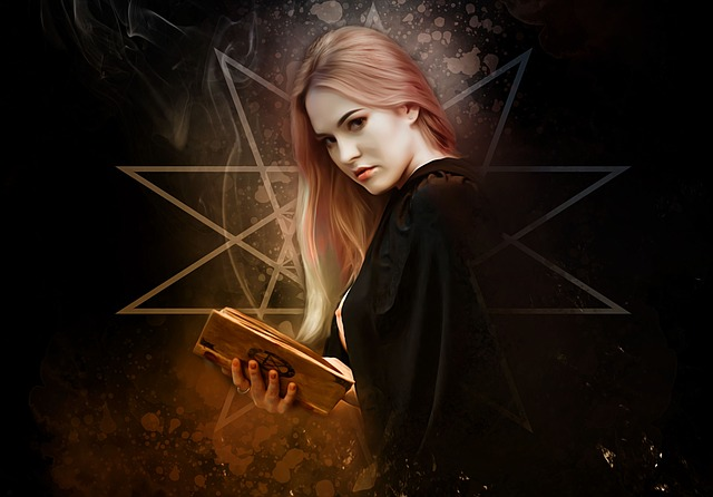 Witch, Gothic, Goth, Dark, Portrait, Woman, Female