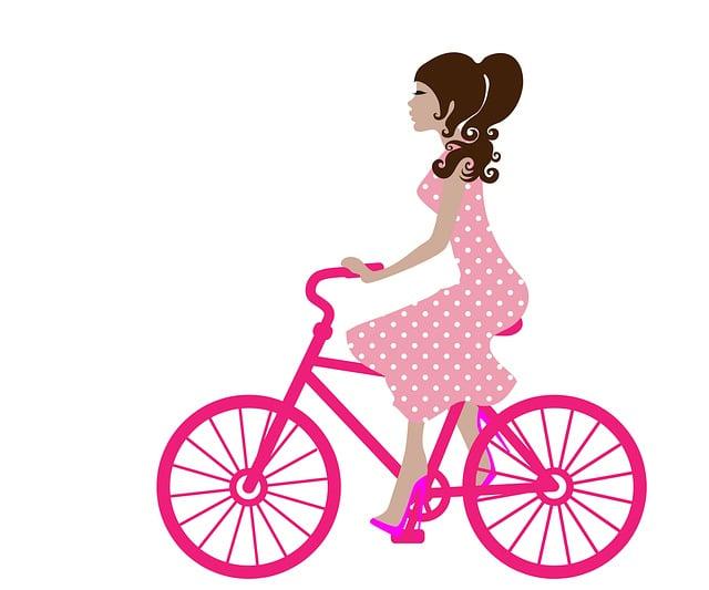 Girl, Bike, Cycling, Bicycle, Young, Bike Riding, Woman