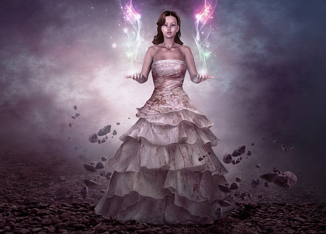 Woman, Girl, Young, Beauty, Ground, Rocks, Sky, Energy
