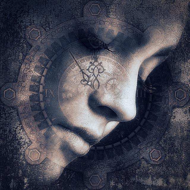 Cd Cover, Portrait, Woman, Dream, Head, Mysterious