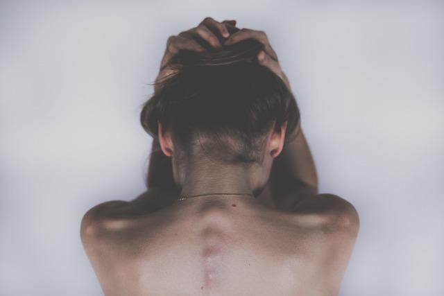 Woman, Sad, Depression, Headache, Aching, People, Body
