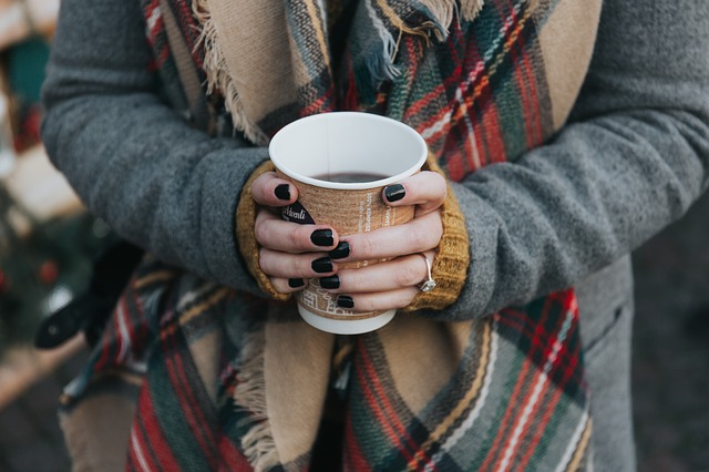 Coffee, Hot, Drink, Espresso, Cup, People, Woman, Hand
