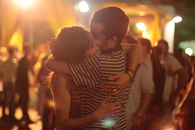 People, Man, Woman, Hug, Embrace, Happy, Smile