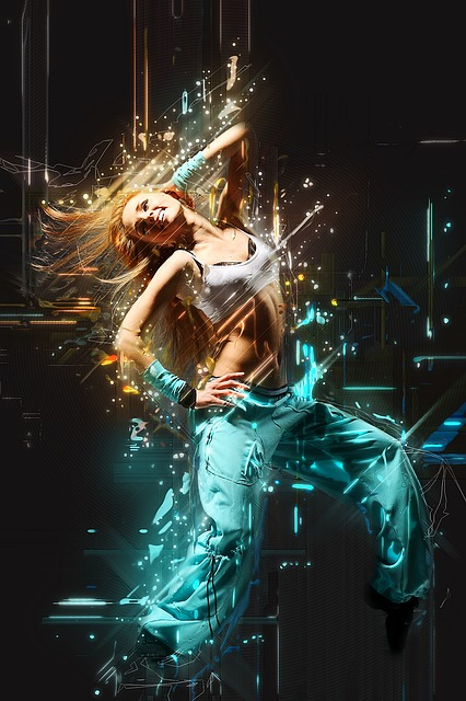 Girl, Funky, Woman, Person, Human, Dancer, Young