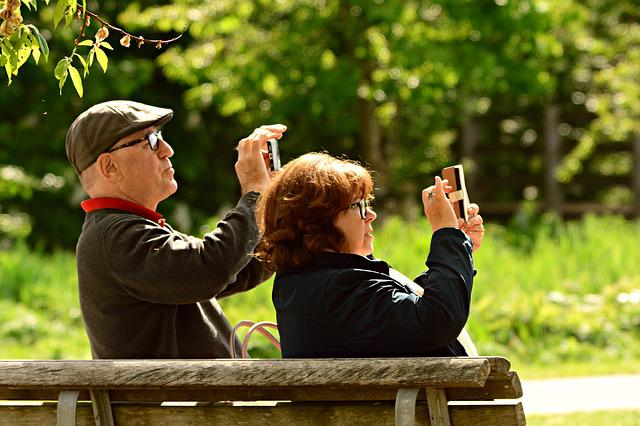 Man, Woman, Couple, Photography, Smart Phone