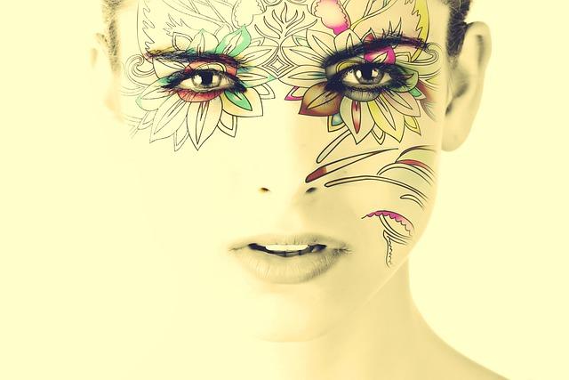 Model, Face, Woman, Tattoo