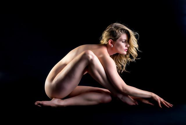 Nude, Woman, Sexy, Naked, Fitness, Dancing, Erotic