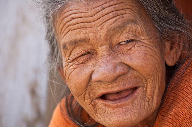Old Lady, Smile, Beautiful, Woman, Old, Elderly